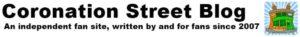 coronation street blog