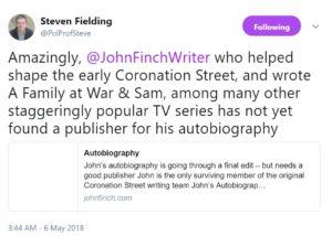 john finch autobiography