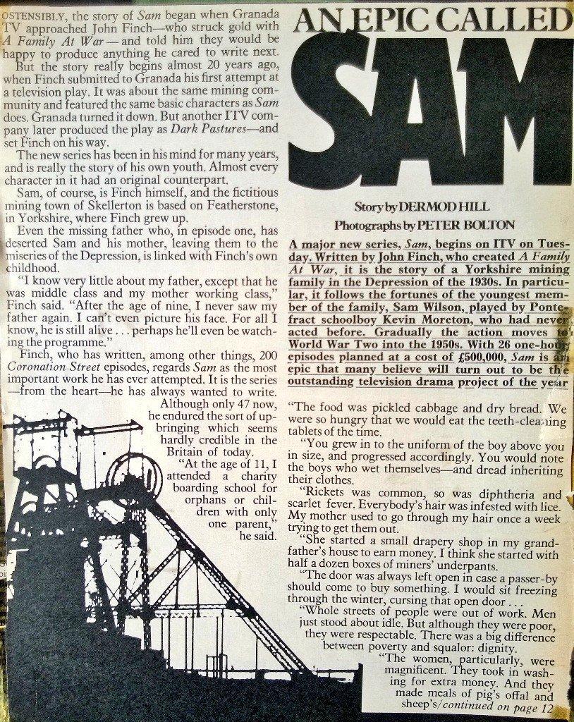 SAM remembered